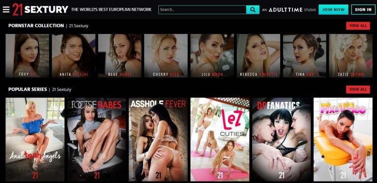 21Sextury - Top Premium Porn Sites