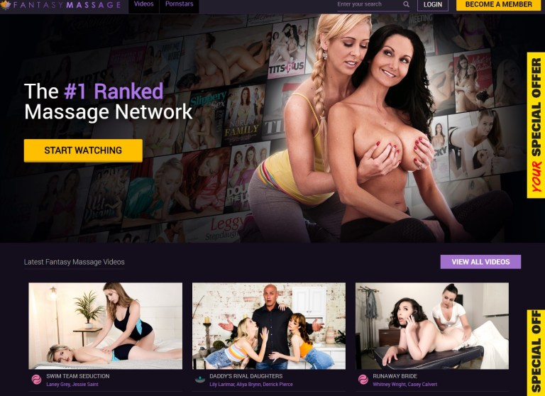FantasyMassage - Top Premium Massage Sites