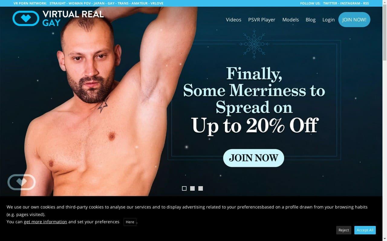 Virtual Real Gay - top Gay Vr Porn Sites List