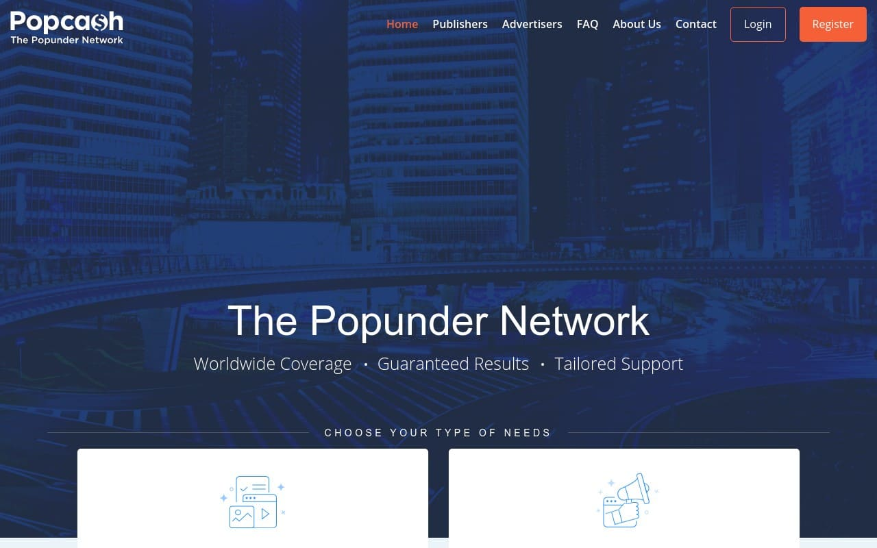 Popcash - top Adult AD Networks List