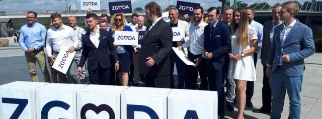 Partia Zgoda – Michał Kołodziejczak zaprezentował swoją drużynę i program