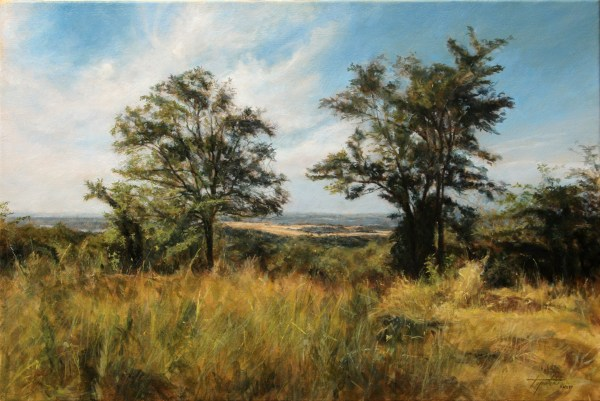 In Country Landscape Oil Painting Fine Arts