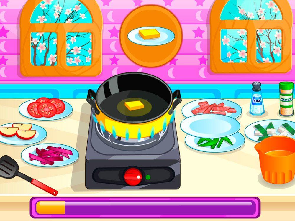 Juegos De Cocina Con Sara Y Su Novio