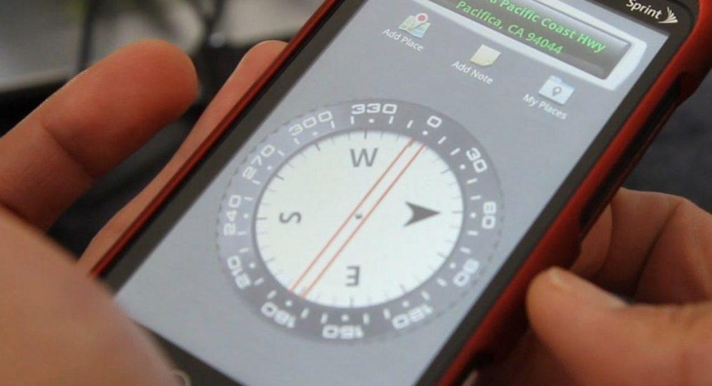 Las mejores aplicaciones de brjulas Android  Imgenes y