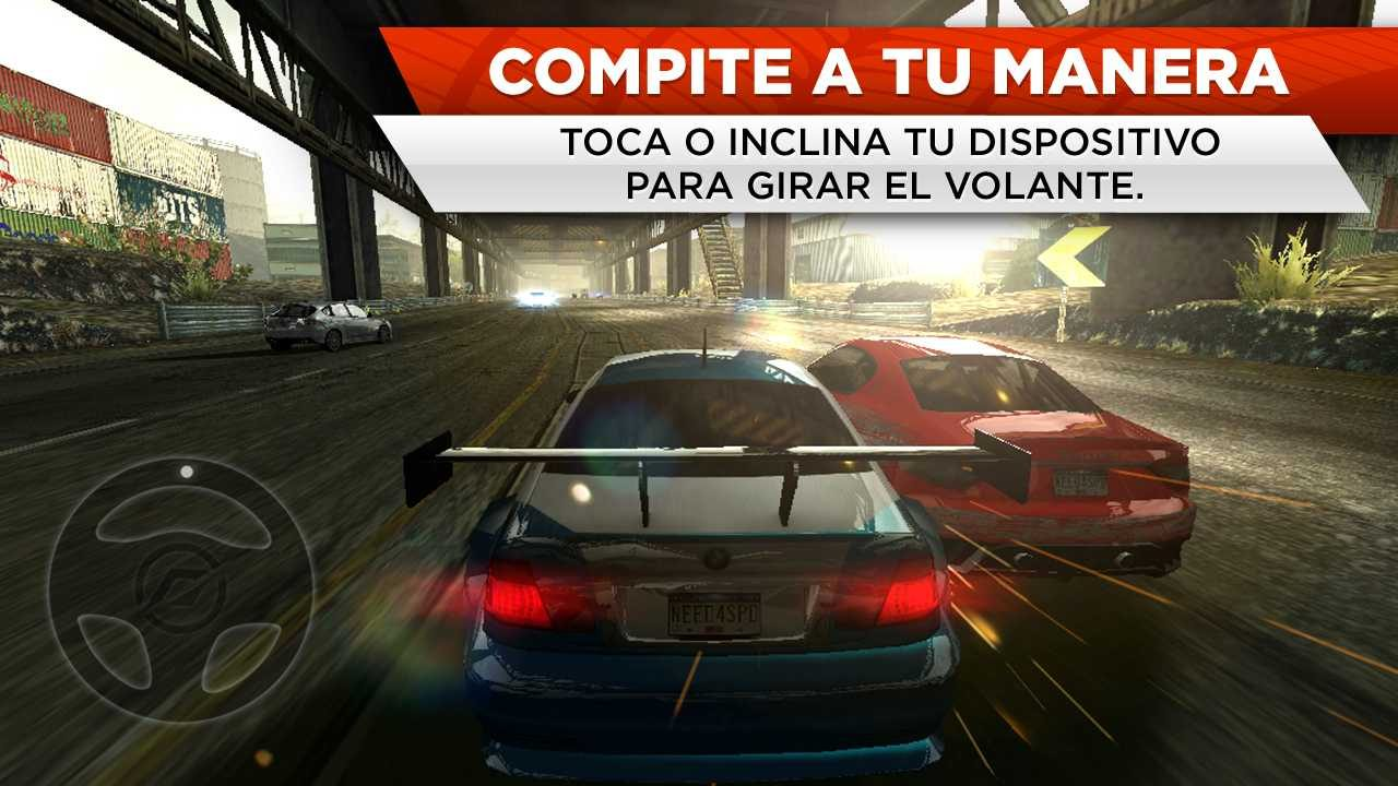 Need for Speed Most Wanted para Android  Imgenes y fotos