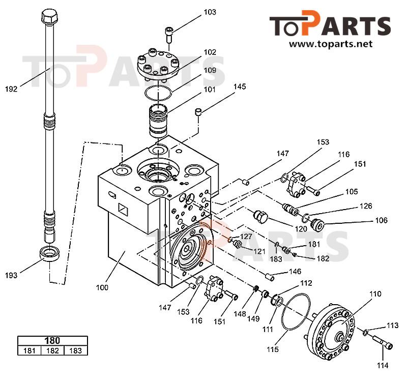 3363089849 Accumulator Repair Kit for Atlas Copco HB2200