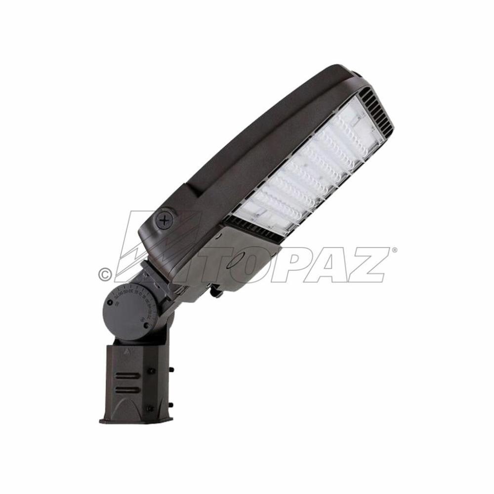 medium resolution of led parking lot area light 150w w slip fitter mount
