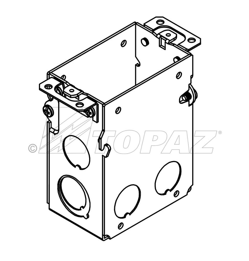 """3"""" X 2"""" GANGABLE SWITCH BOXES SBG591 SBG605SBG600 SBG601"""