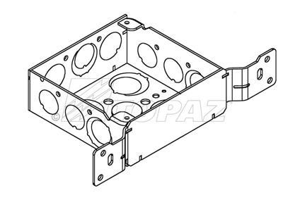 4 Square Electrical Junction Box 12Cm Square Electrical