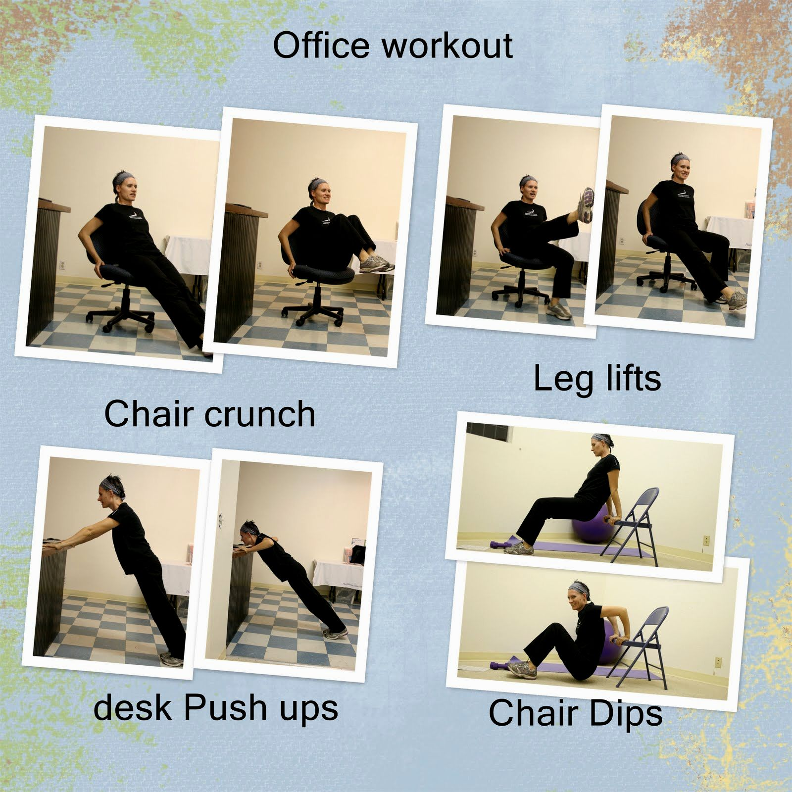 office chair exercises wheelchair puncture repair kit blog you can perform from your exercise