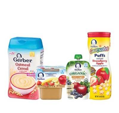 cheap gerber baby food