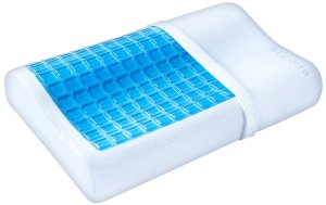 #8. PharmeDoc contour memory foam pillow