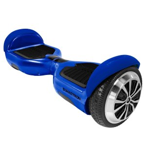 #2. Swagtron T1 – UL 2272 Certified Hoverboard (Blue)