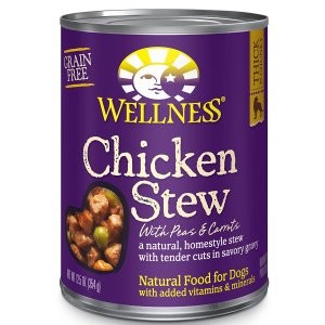 7. Wellness Thick-n-Chunky Natural Wet Canned Dog Food