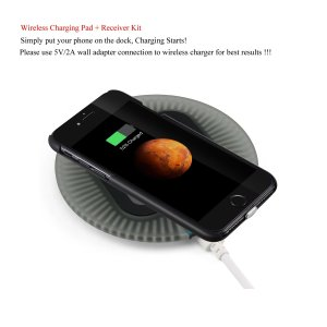 9. Antye Qi Wireless Charger Kit for iPhone 7