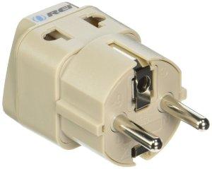 2. OREI European Plug Adapter