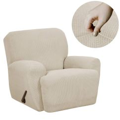 Recliner Chair Covers Grey Extra Large Folding Chairs Top 10 Best In 2018 Reviews Pro Reivew Maytex Reeves Stretch Cover With Side Pocket