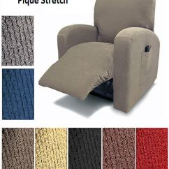 Recliner Chair Covers Grey Eames Walnut Top 10 Best In 2018 Reviews Pro Reivew Orly S Dream Pique Cover Fit Slipover