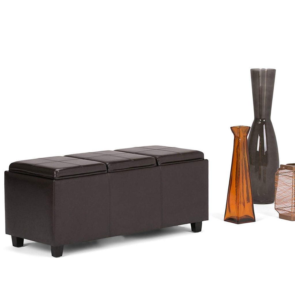 Top 10 Best Leather Ottomans in 2021 Reviews   Top Best Pro Review