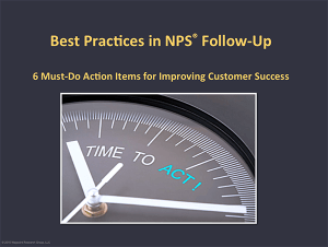 Best Practices NPS Action Plan