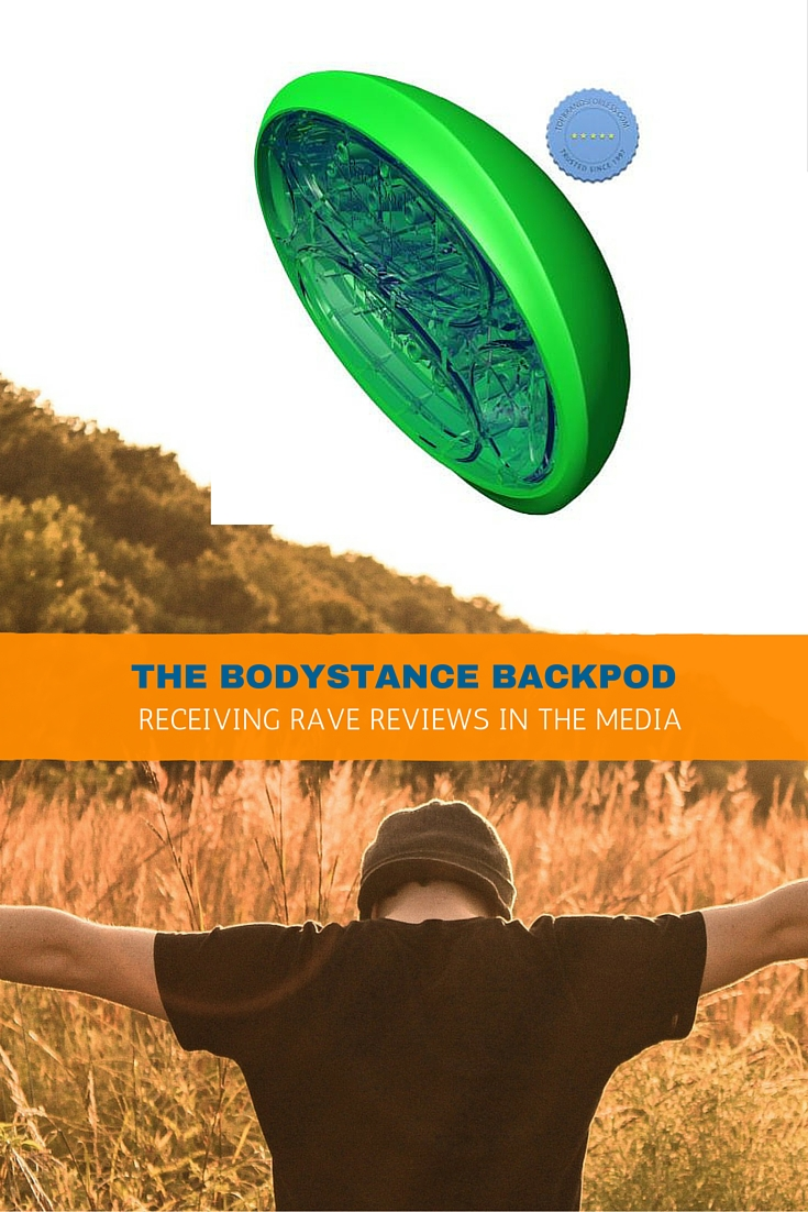 The Bodystance Backpod Receiving Rave Reviews in the Media