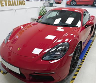 new car detailing