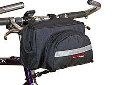 Bushwhacker Black Bicycle Handlebar Bag