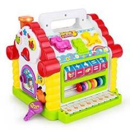 TOYK Kids Musical Baby Fun House
