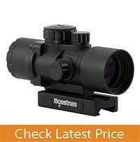 Monstrum Tactical S330P Ultra-Compact 3x Prism Scope