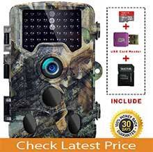 "SOVACAM Trail Camera,16MP 1080P 2.4"" LCD HD Deer Hunting Camera"