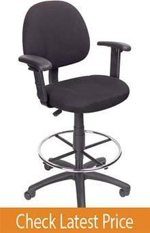 Boss Office Ergonomic Standing Desk Chair