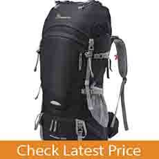 Mountaintop 55L/65L Camping, Hiking Backpack