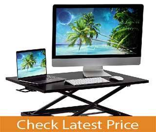 Ergonomic Best Standing Desk  Converter