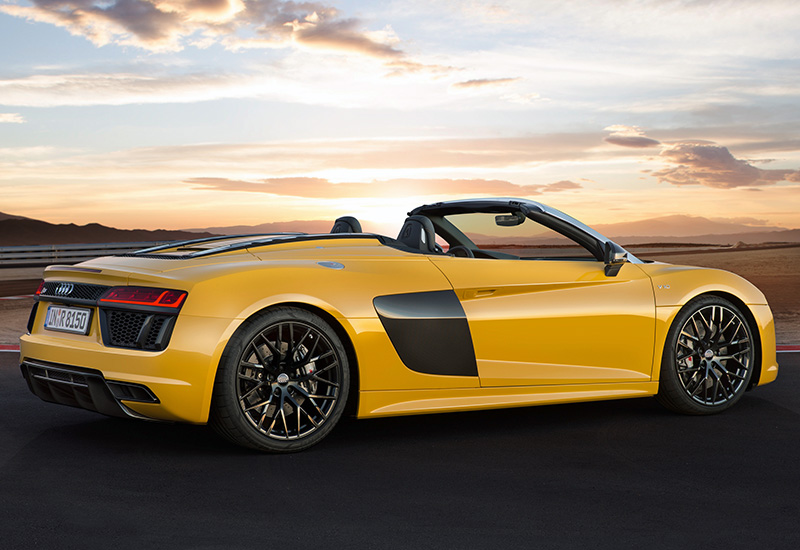 2017 Audi R8 Spyder - price and specifications