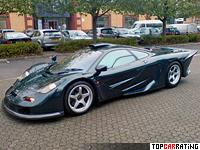 McLaren F1 GT 6.1 litre BMW V12 RWD 1997