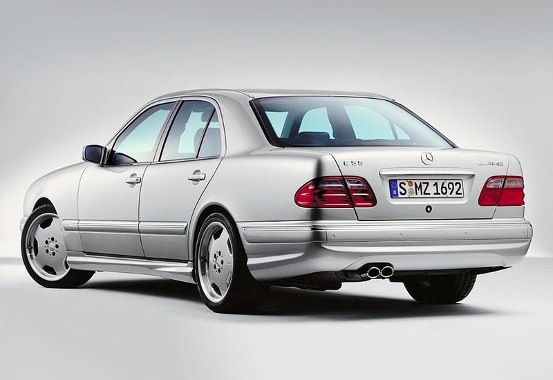 1999 Mercedes Benz E 55 Amg 4matic W210 Specs Photo