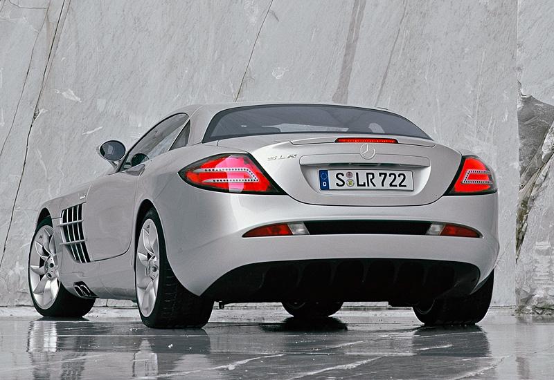 2003 Mercedes Benz SLR McLaren Specifications Photo