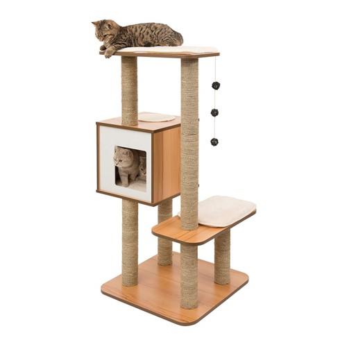 Best Cat Tree $100-$200 - Vesper V-High Base Cat Tree