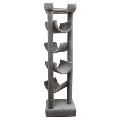 Best Cat Trees Above $200 - New Cat Condos Premier Solid Wood Skyscraper Cat Tree