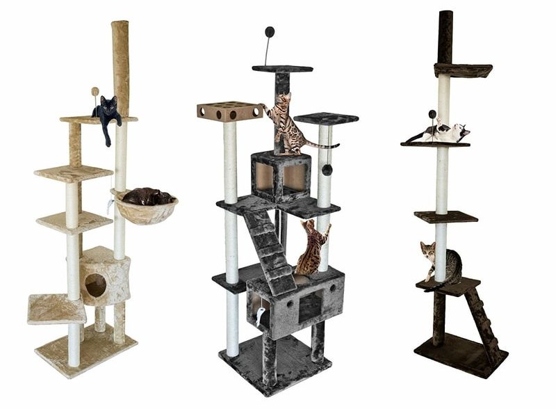 Best Cat Trees Smart Buyers Guide - FurHaven Tiger Tough Multi-Level Cat Tree Range
