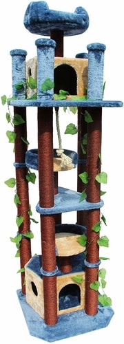 Best Cat Tree That Looks Like A Cat Tree - Kitty Mansions Honolulu Cat Tree