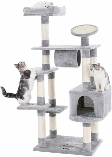 Best Cat Trees For Multiple Cats - FEANDREA Sturdy Cat Tree
