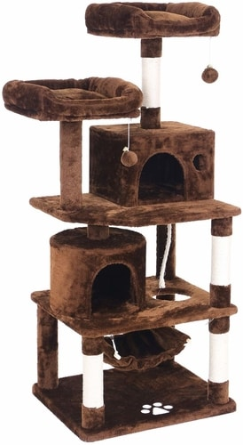 Cheap Cat Trees For Large Cats - BEWISHOME Cat Tree Condo