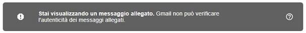 allegare una mail banner del file eml