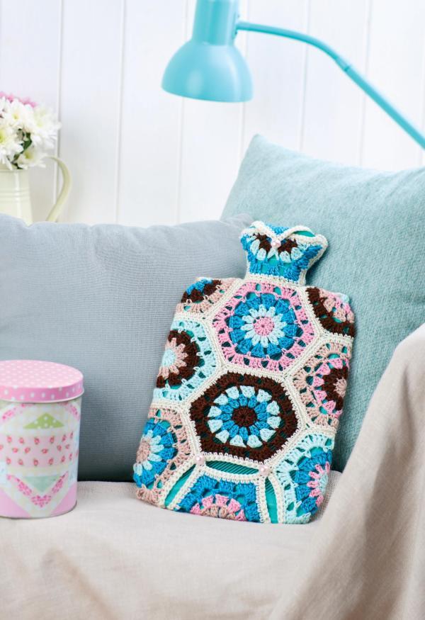 Hot Water Bottle Cosy Crochet Pattern