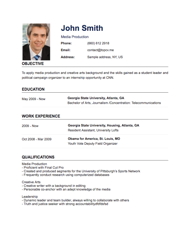 how to create professional resume resume sample