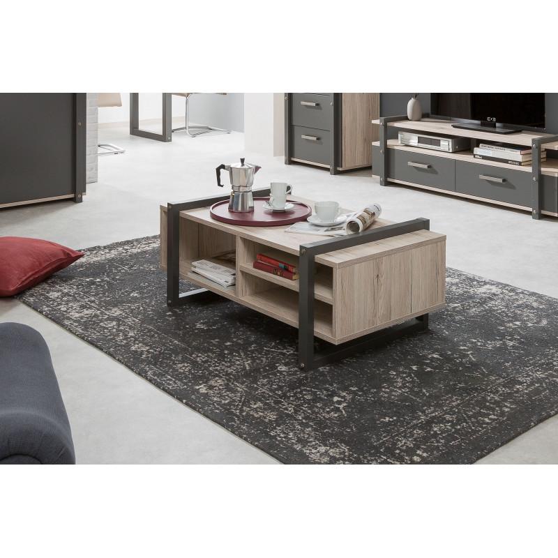 table basse de style industriel brooklyn
