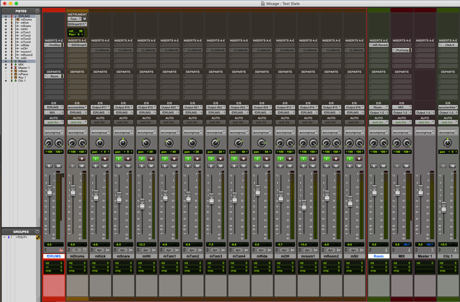 Pro Tools : Folder Tracks (2)