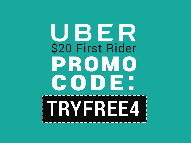 Uber Promo Codes 2017  TRYFREE4 gets you 20 off your first ride