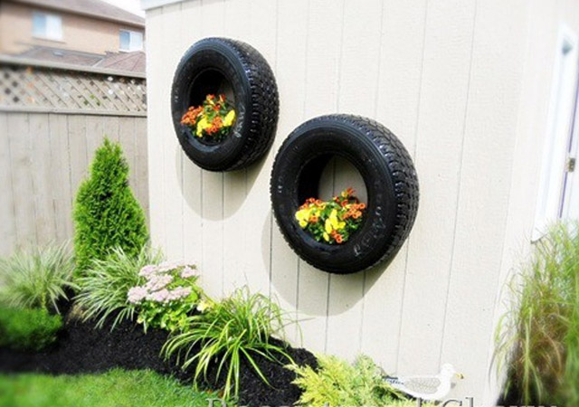 17 Amazing Craft Ideas How To Use Old Tires